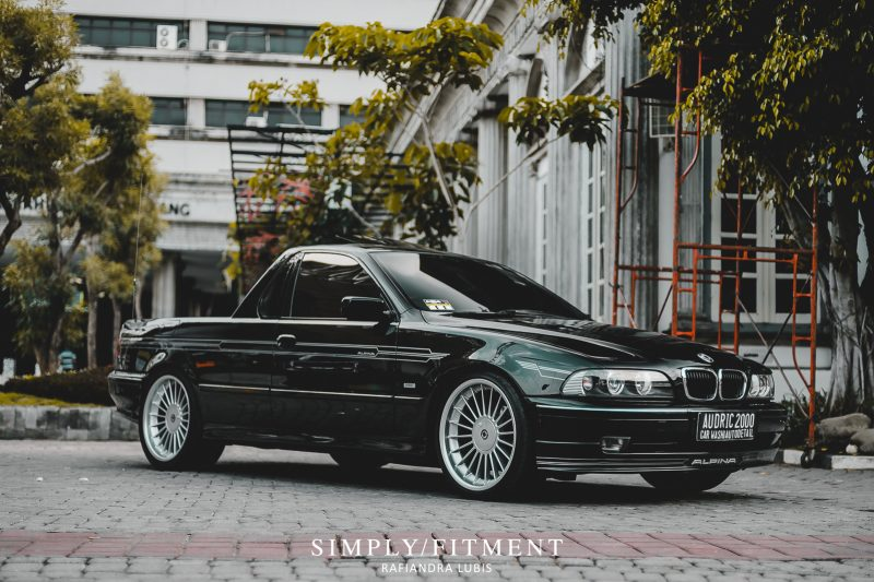 EDY'S BMW E39 UTE - TWO SEATERS WITH EXTRA LARGE TRUNK (WITH PROCESSING)