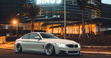 Aditya's Bagged BMW 435i on WatercooledIND Wheels