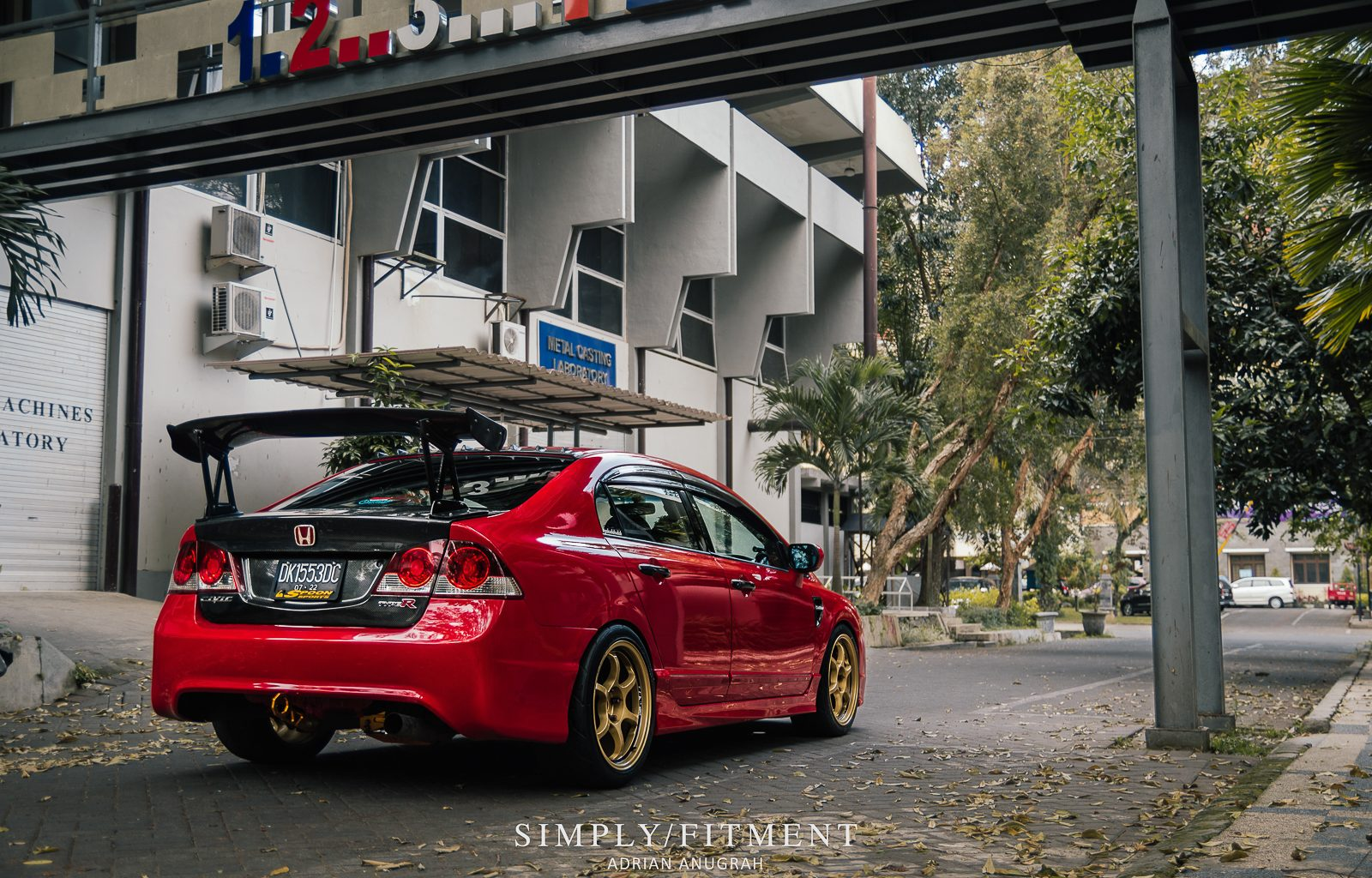 DEWA'S BOOSTED HONDA CIVIC FD