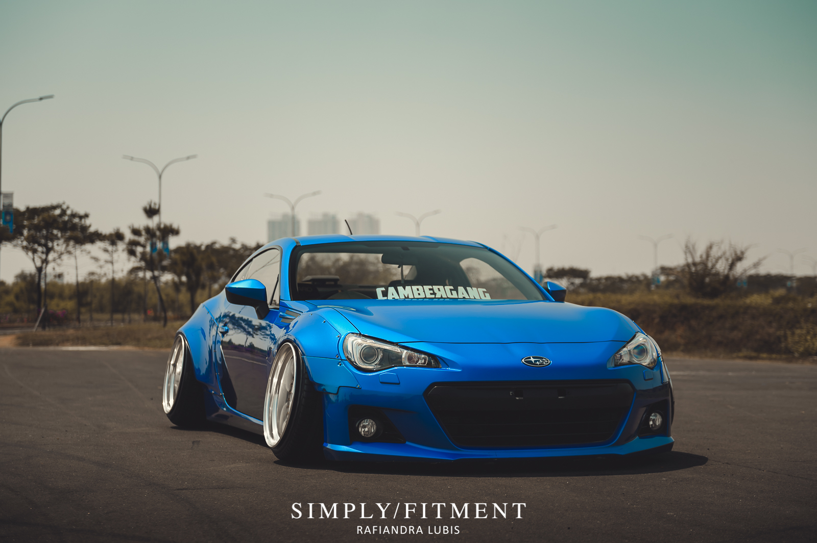 ALEHOED 'S BAGGED SUBARU BRZ ON WORK MEISTER M1